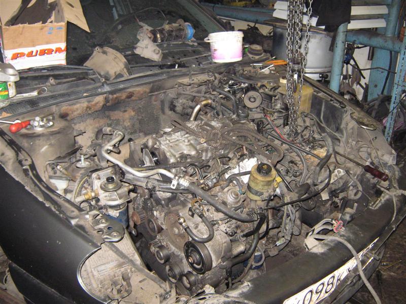 Ремонт и обслуживание двигателя sr18
